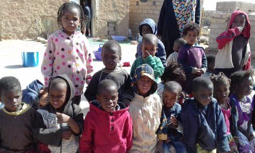 centre-Enfants dans un centre d'accueil